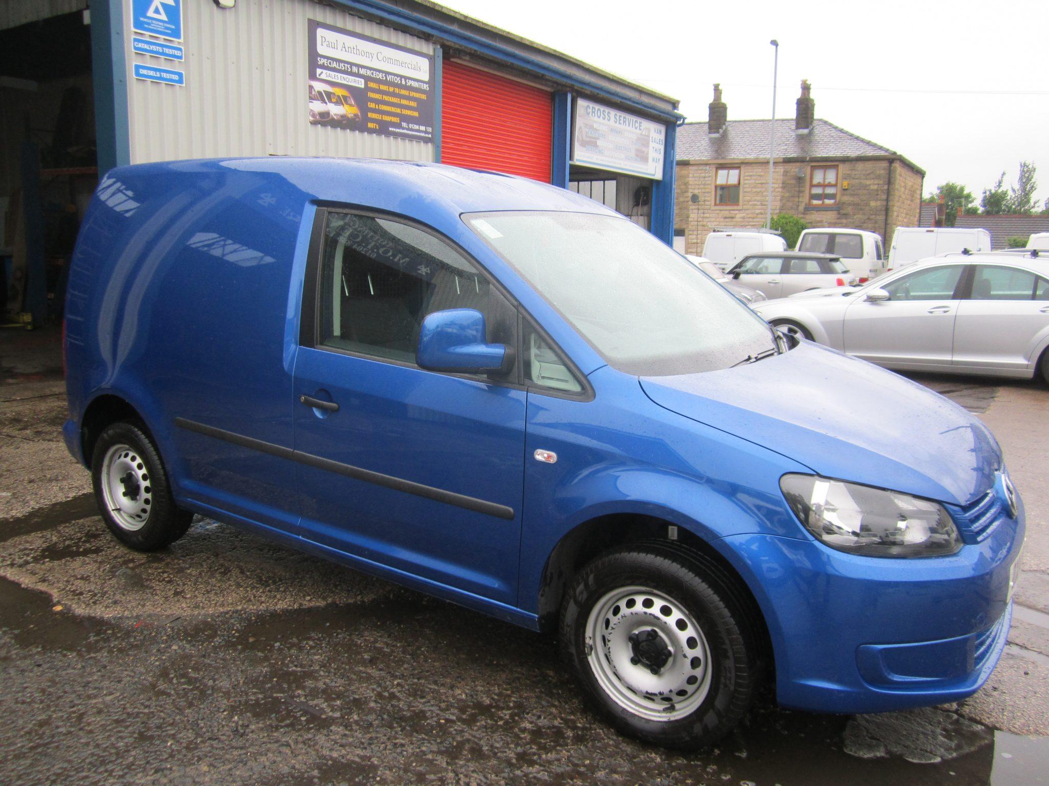 VW CADDY  C20 STARTLINE RAVEN BLUE