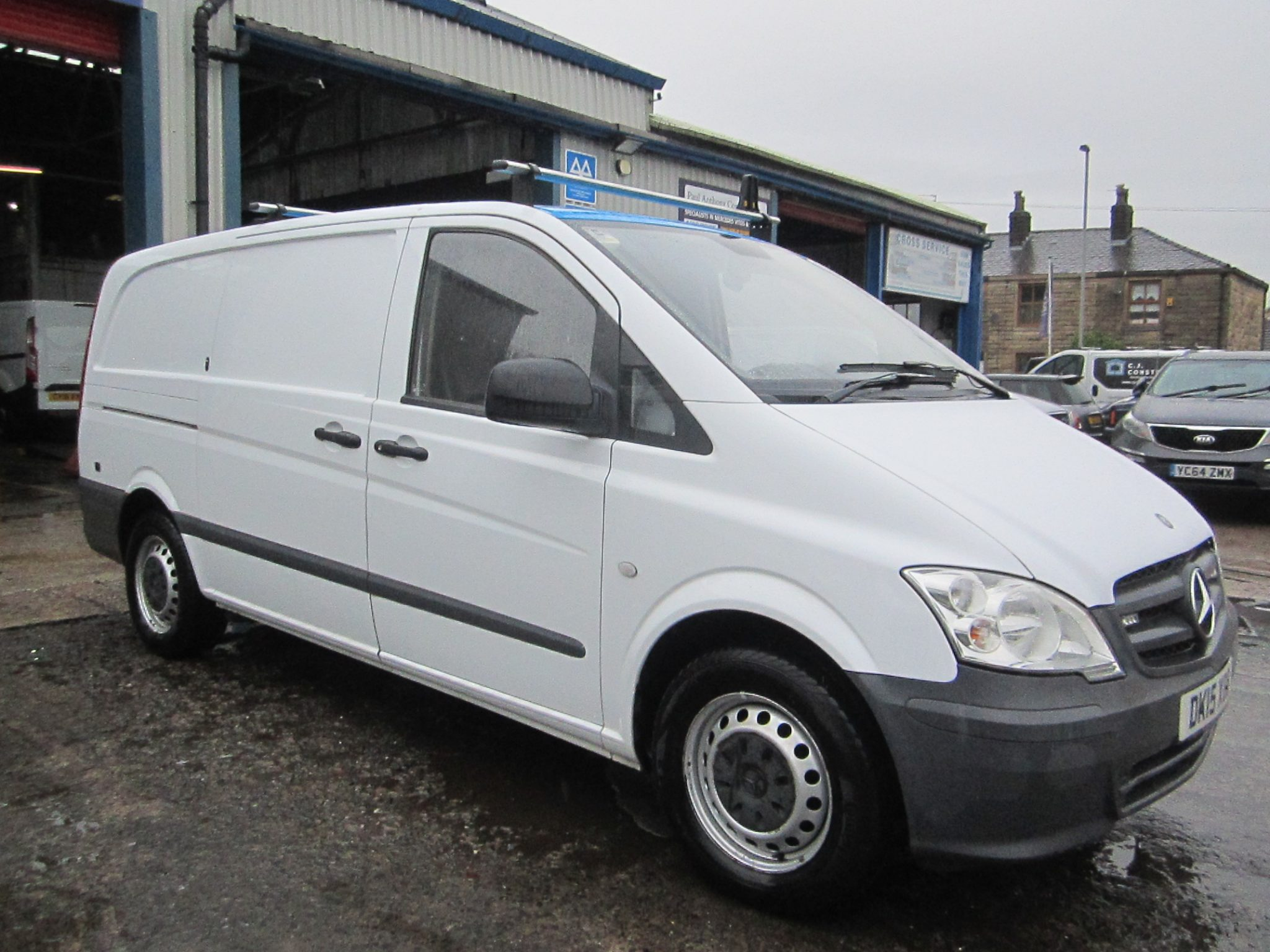 VITO 113 CDI LWB WORK SHOP VAN