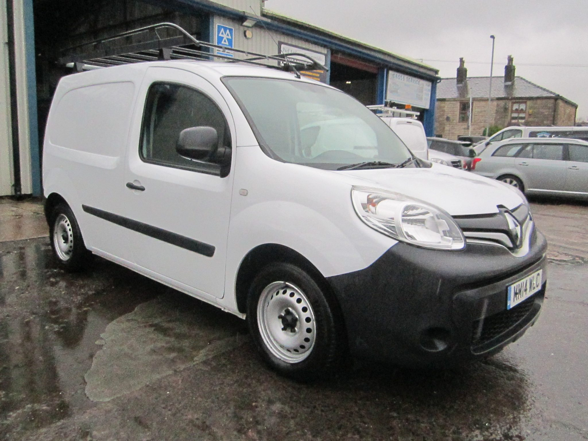 RENAULT KANGOO PHASE 2 ECO-STREAM WINDOW WASH SYSTEM FITTED