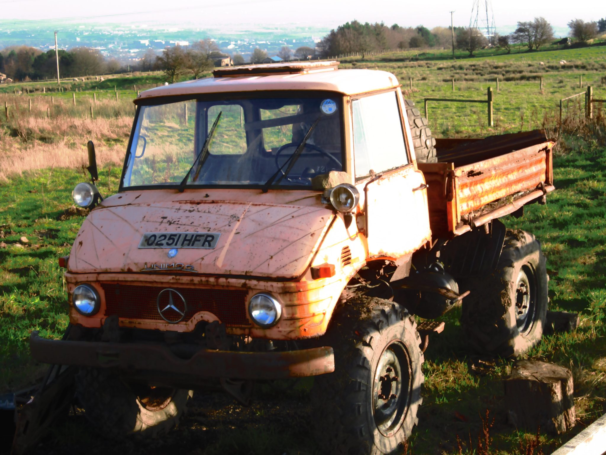 MERCEDES UNIMOG 406 AGRICULTURAL TRACTOR FOR RESTORATION