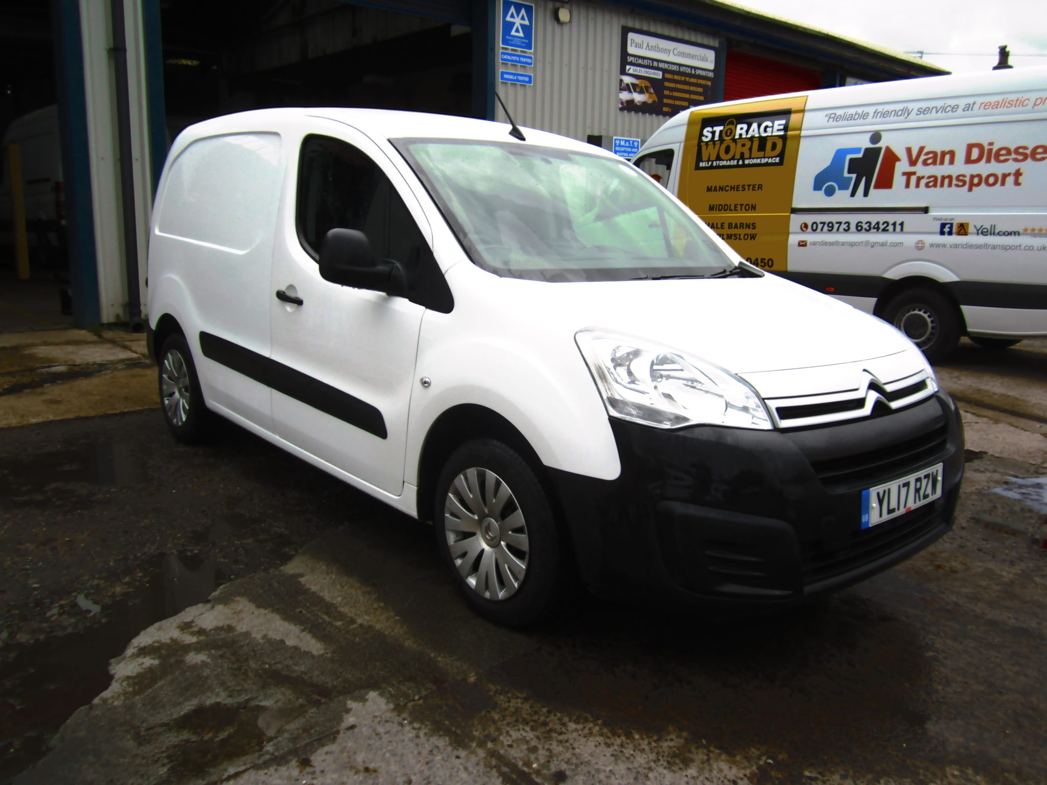 CITROEN 625 BERLINGO BLUE HDI ENTERPRISE